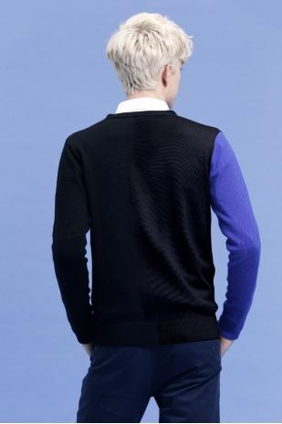 针织衫12(黑色午夜)