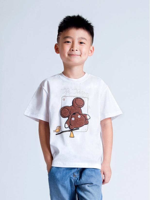 泰迪熊 圆领Tee(儿童款)