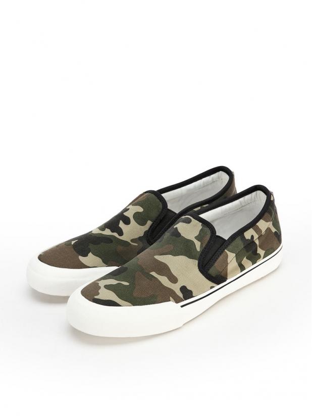 布拉格 休闲布鞋(迷彩版)