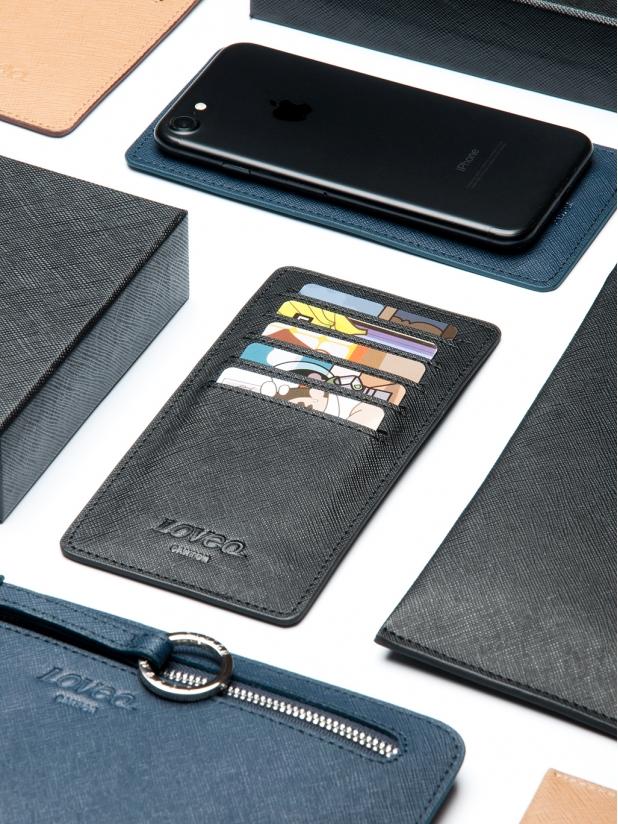 十字纹Wallet Plus(黑色)