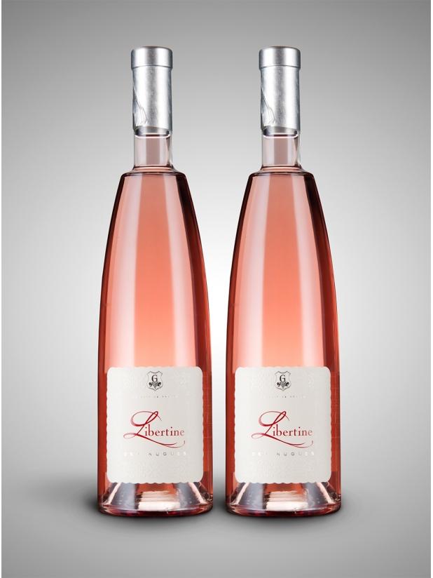 法国小放纵桃红葡萄酒×2