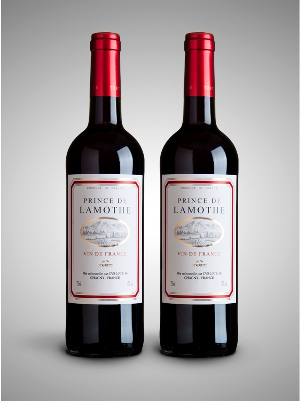 法国王子干红葡萄酒×2