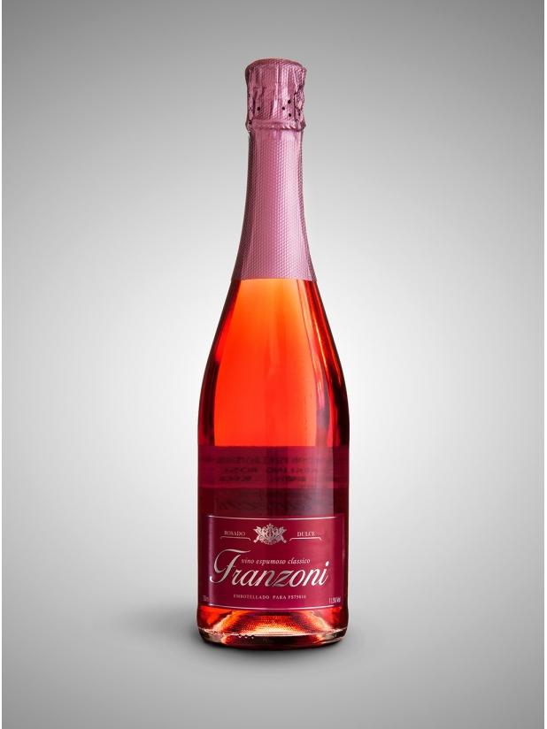 西班牙弗兰佐妮桃红汽泡葡萄酒