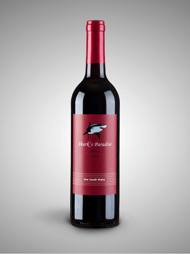 红鲨鱼 干红葡萄酒