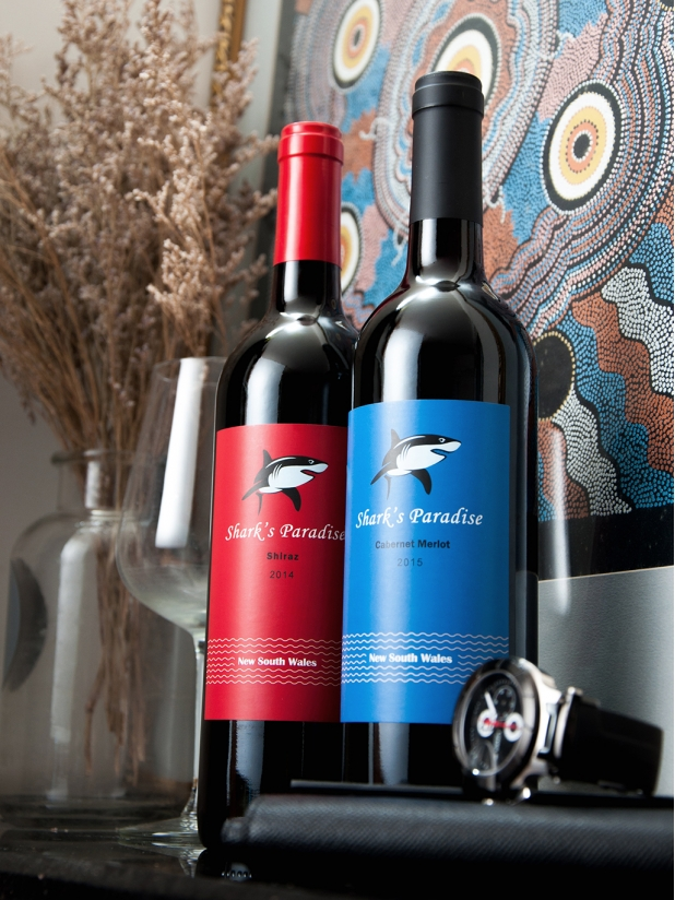 蓝鲨鱼 干红葡萄酒