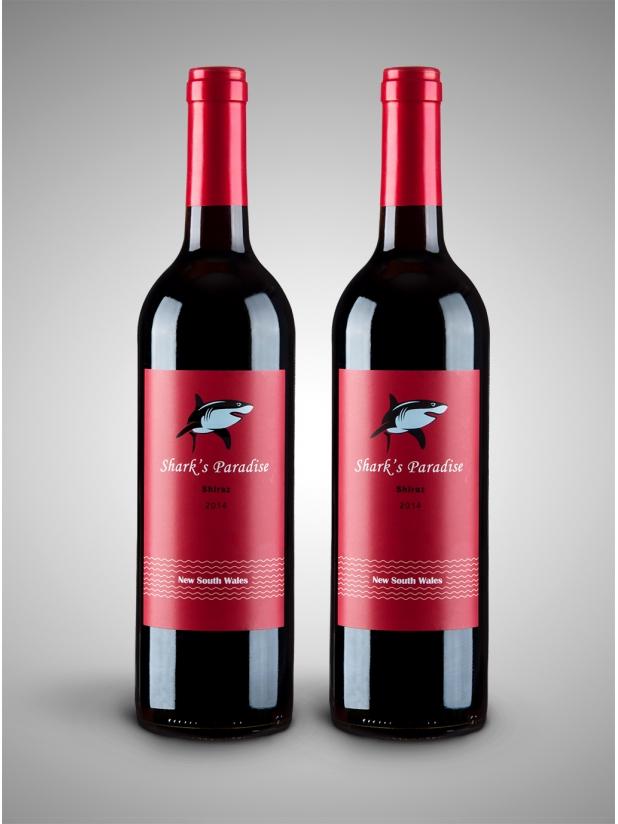 红鲨鱼 干红葡萄酒2瓶