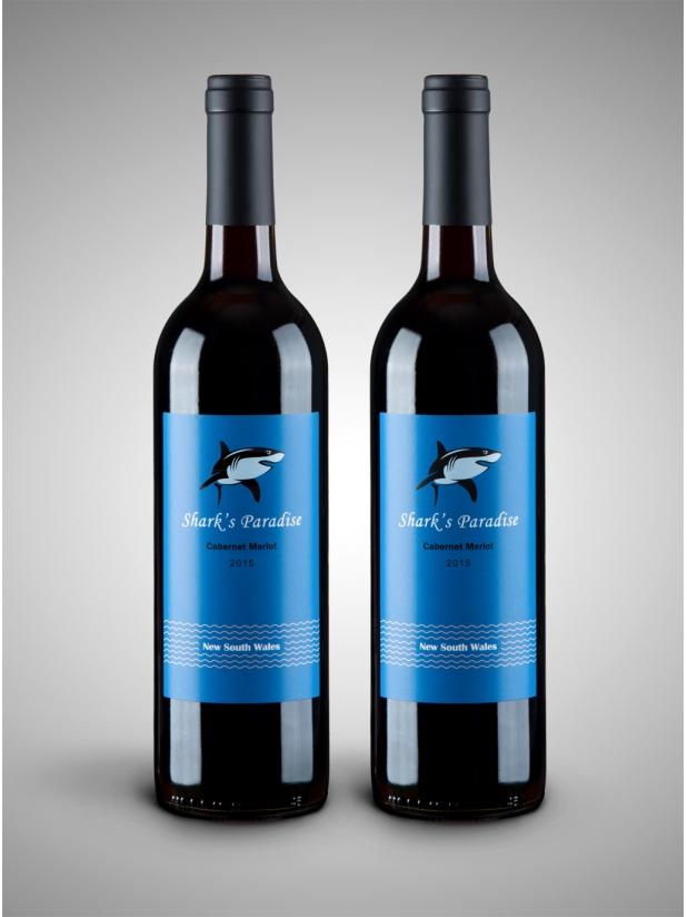 蓝鲨鱼 干红葡萄酒2瓶