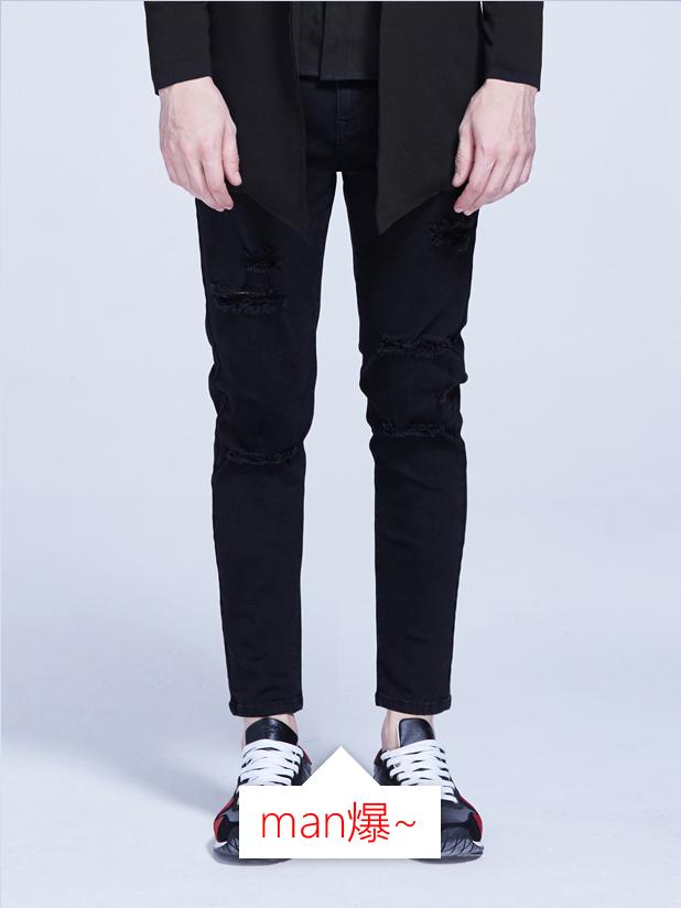 【705】破洞牛仔裤