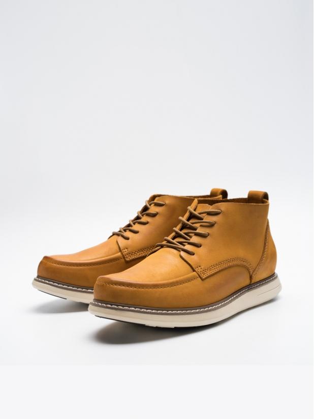 中帮工装靴