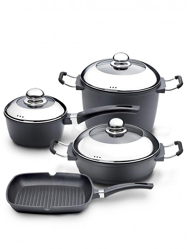 捷克 Ambassador Proflline  钛合金煮食烹饪套装