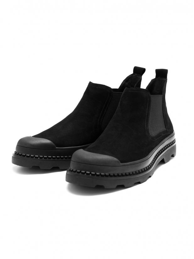 磨砂皮短靴