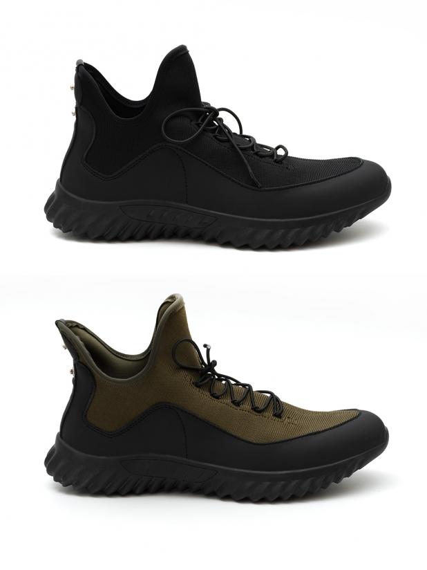 探路者 系带防滑登山鞋
