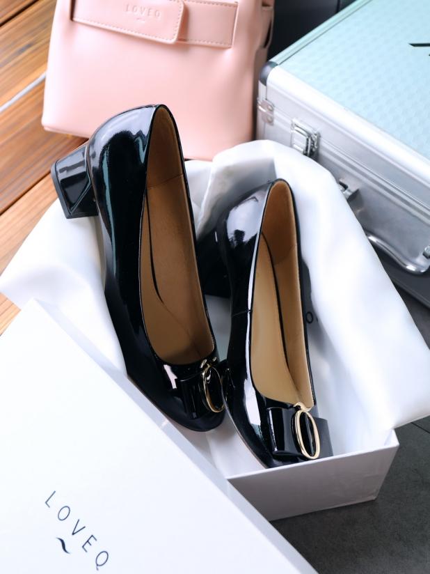 漆皮高跟鞋