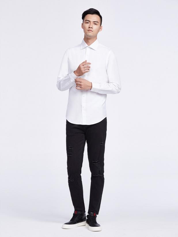 衬衫 37 白色恋人