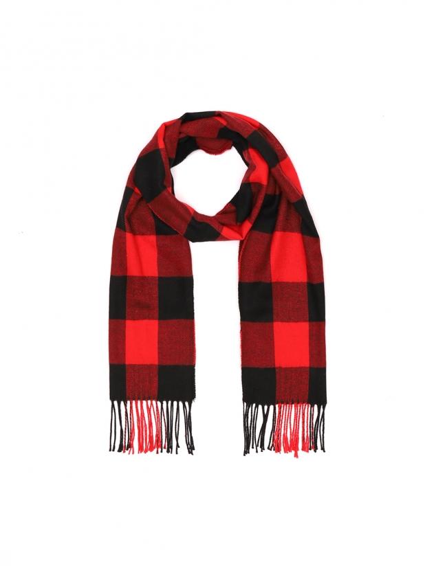 红黑兵团 围巾