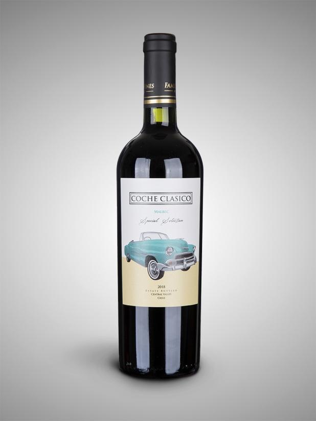 老司机马尔贝克红葡萄酒