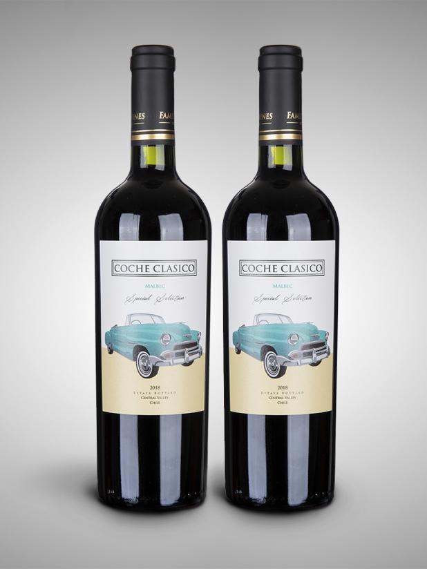 老司机马尔贝克红葡萄酒2瓶