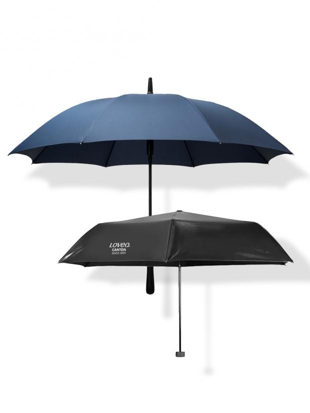 一些事一些情简约长柄雨伞+碳纤维超轻晴雨伞 214元