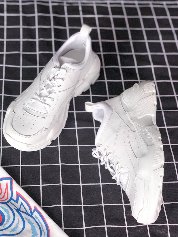 Saunter 复古厚底老爹鞋 白色
