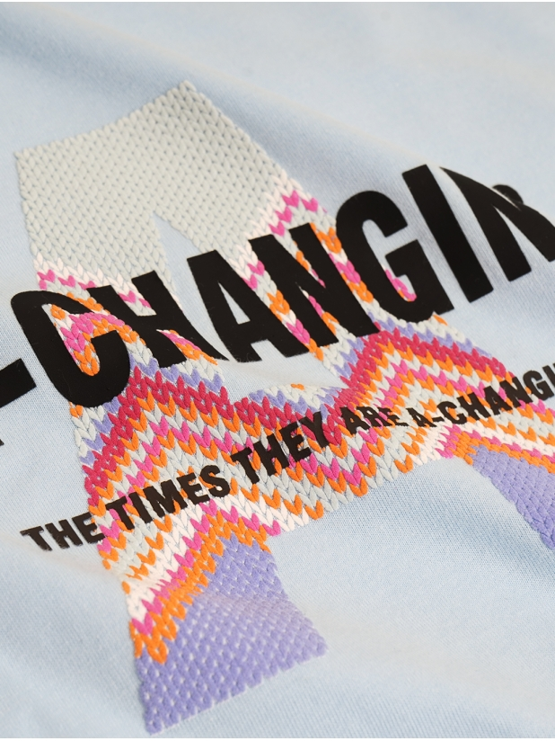 A-CHANGIN 粉蓝