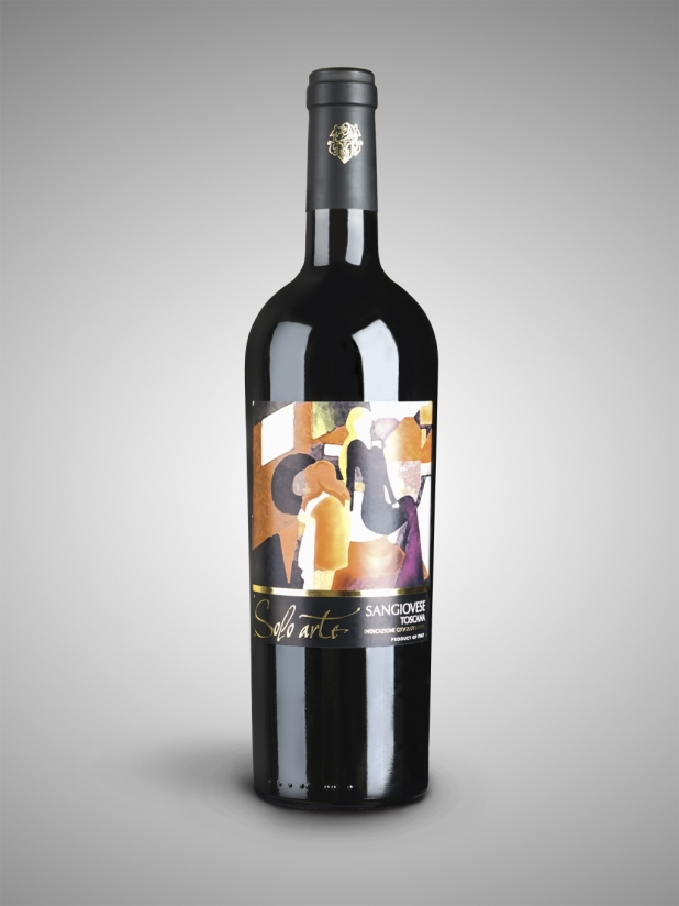 意大利单身艺术 红葡萄酒