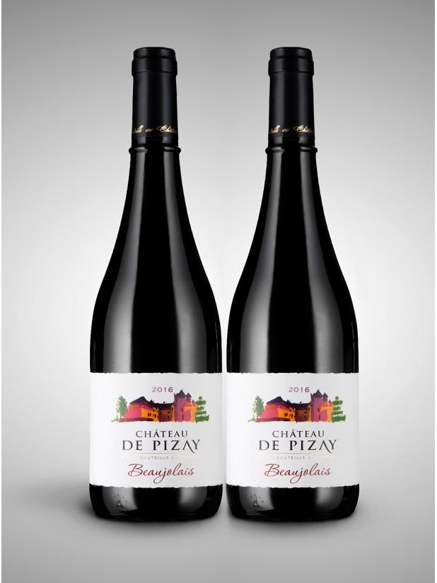 法国毕泽堡(2016)干红葡萄酒×2