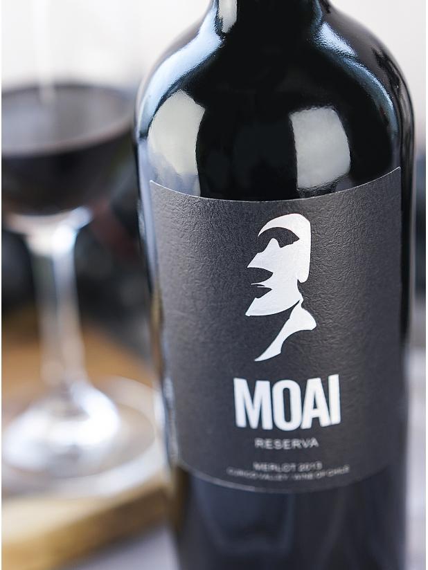 智利巨人莫亚(银)干红葡萄酒