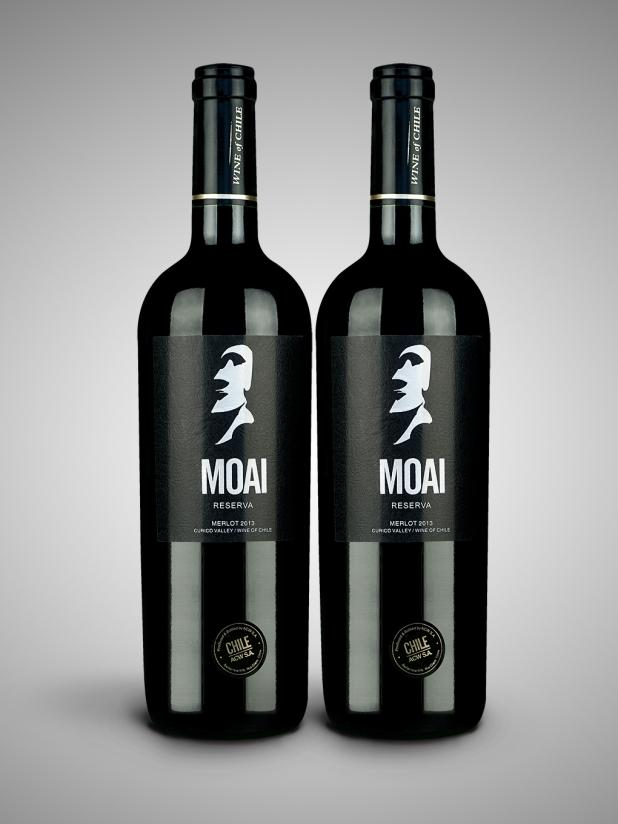 智利巨人莫亚(银)干红葡萄酒×2