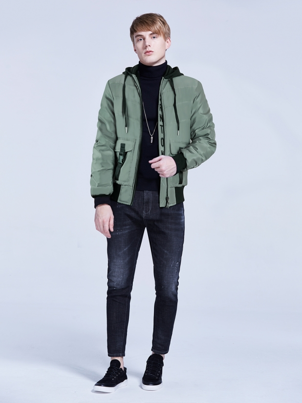 绿洲 棉衣夹克