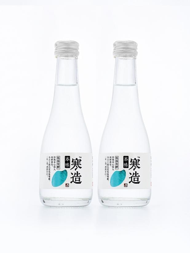 本味寒造 日式清酒16度低度微醺烧酒300ml*2