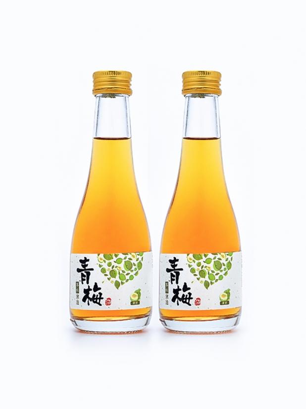 本味寒造 青梅酒 原味/绿茶/紫苏组合300ml*2