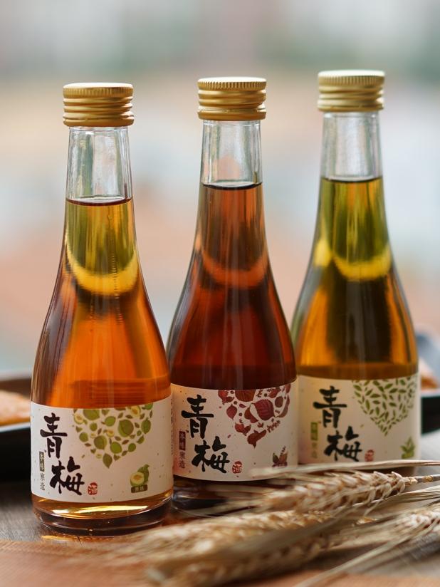 本味寒造 青梅酒 原味/绿茶/紫苏组合300ml*3