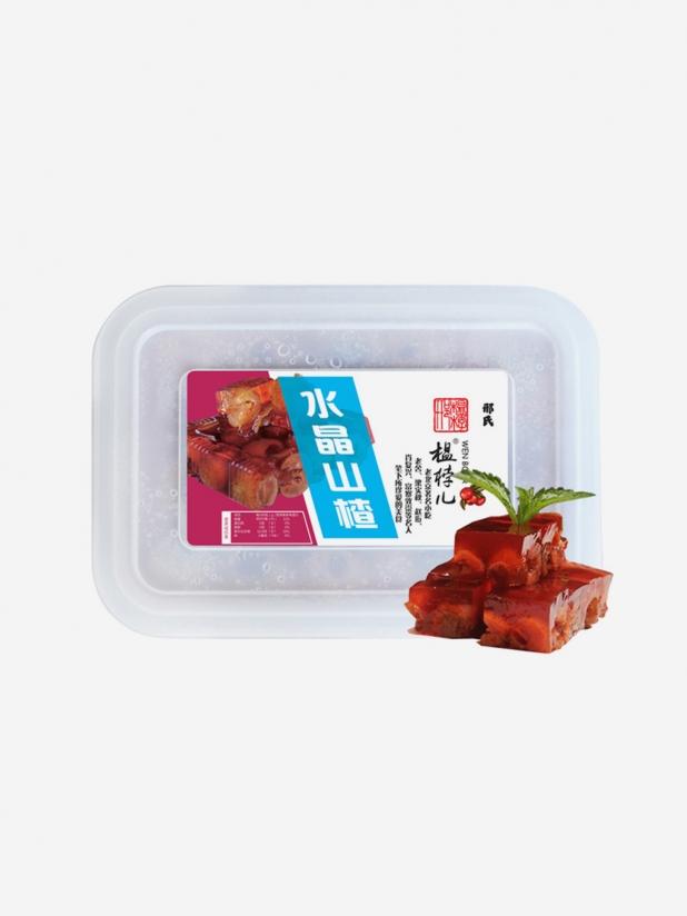 榅桲儿水晶山楂果冻(2盒)