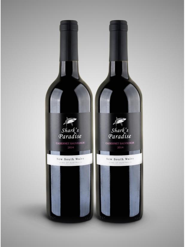 黑鲨鱼 干红葡萄酒*2