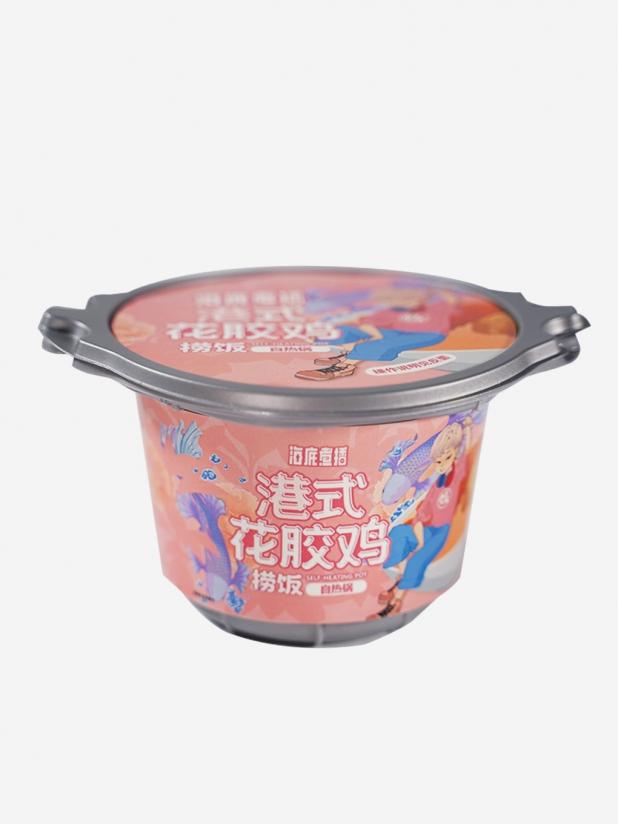 海底煮播港式花胶鸡捞饭