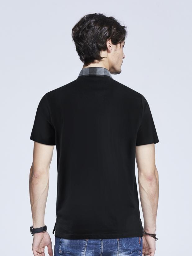 格仔衫T恤