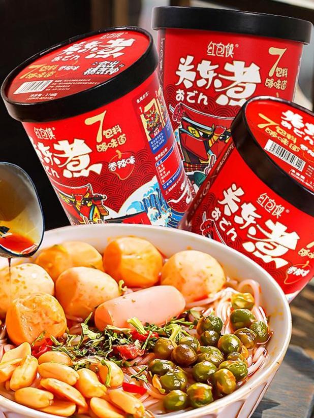红包侠关东煮(香辣味)x6桶