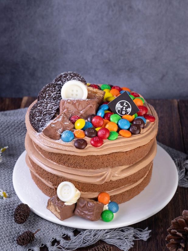 元呈坊夜的华尔兹 巧克力裸蛋糕