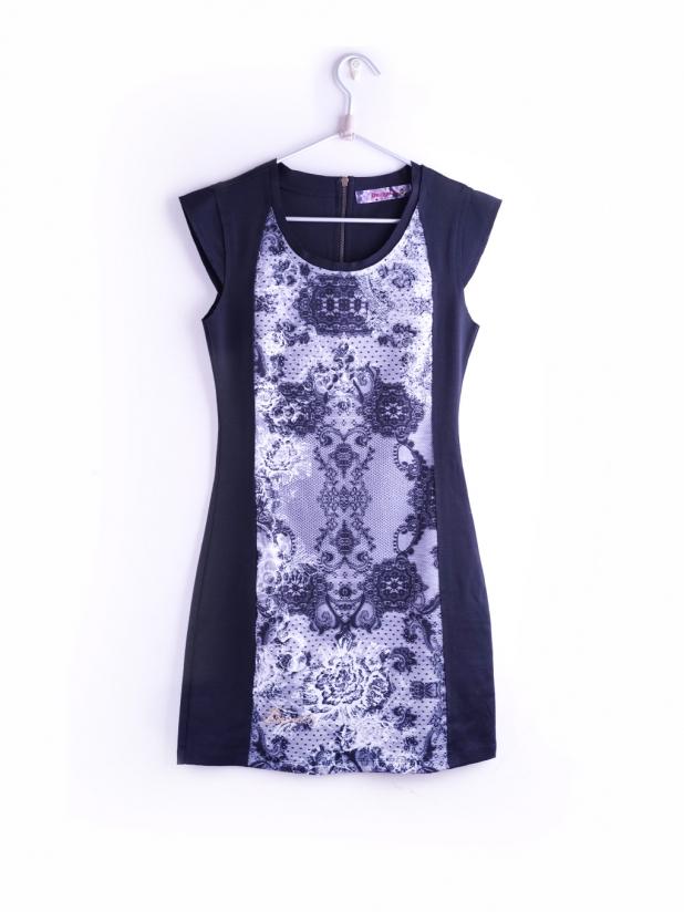 Desigual 黑色无袖连衣裙