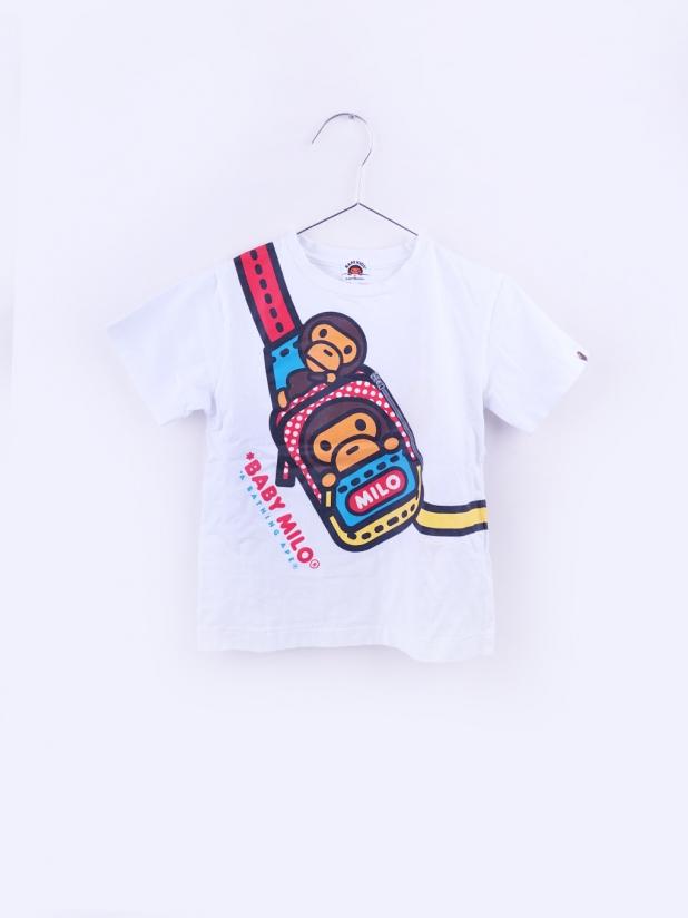 Bape Kids 斜挎包短袖Tee