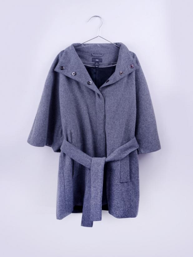 H&M 深灰蝙蝠袖外套