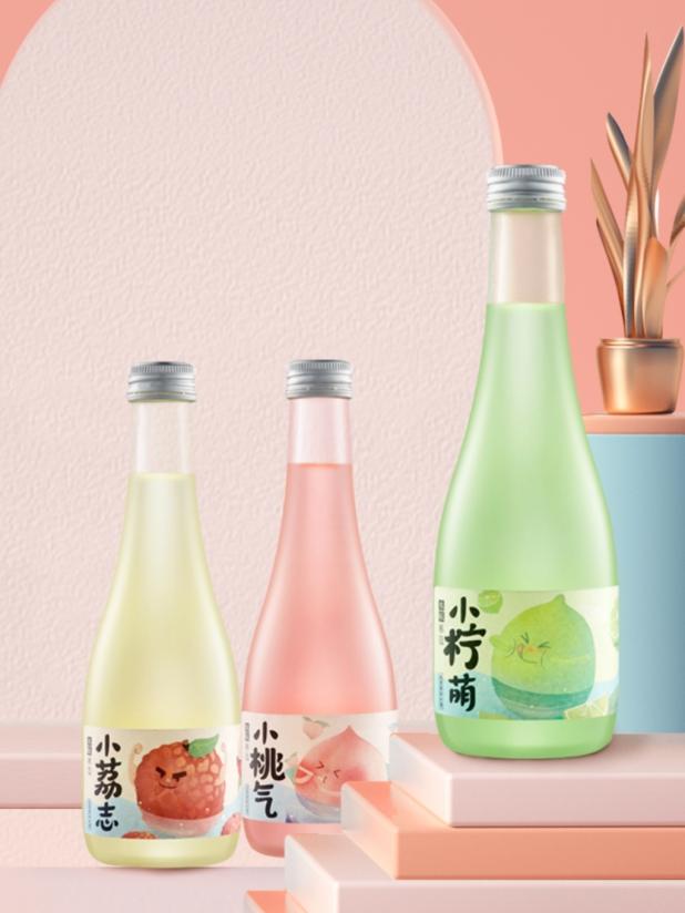 本味寒造低度甜果味米酒300ml*3