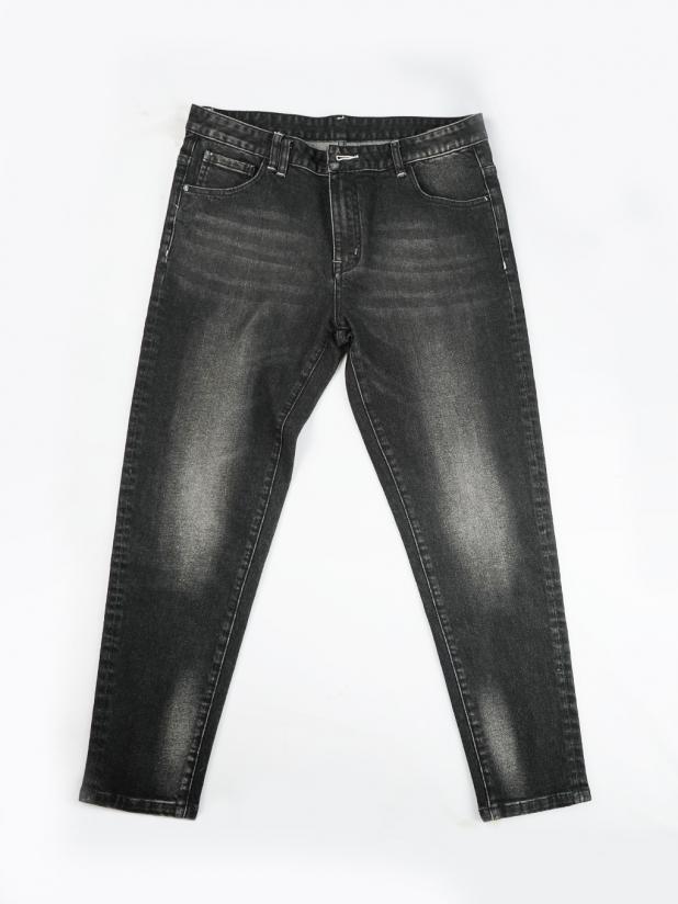 【打板/模特试穿】黑色牛仔裤 1