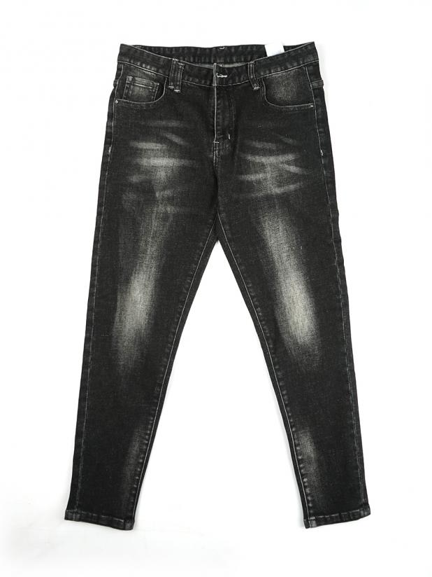【打板/模特试穿】黑色牛仔裤2