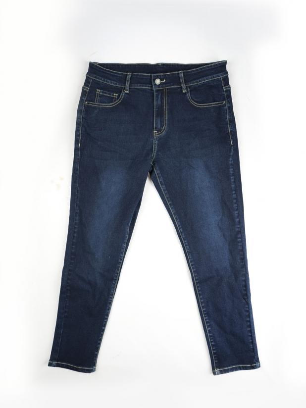 【打板/模特试穿】蓝色牛仔裤