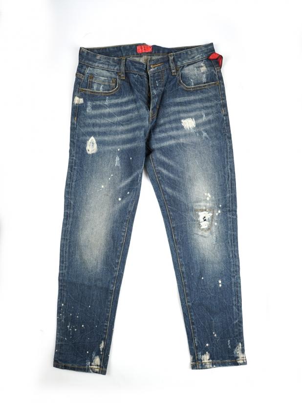【打板/模特试穿】LoveQ牛仔裤