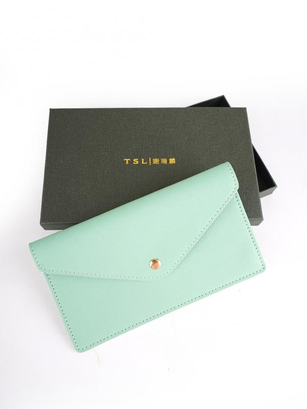谢瑞麟 信封包(绿色)