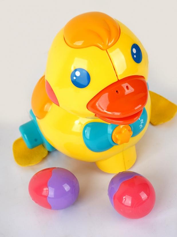 澳贝婴儿学爬小黄鸭