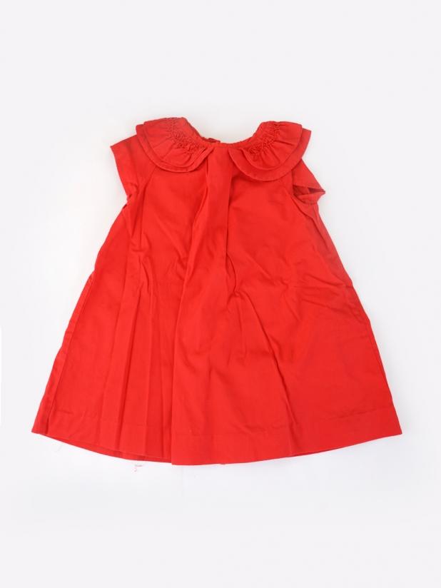 jacadi红色连衣裙