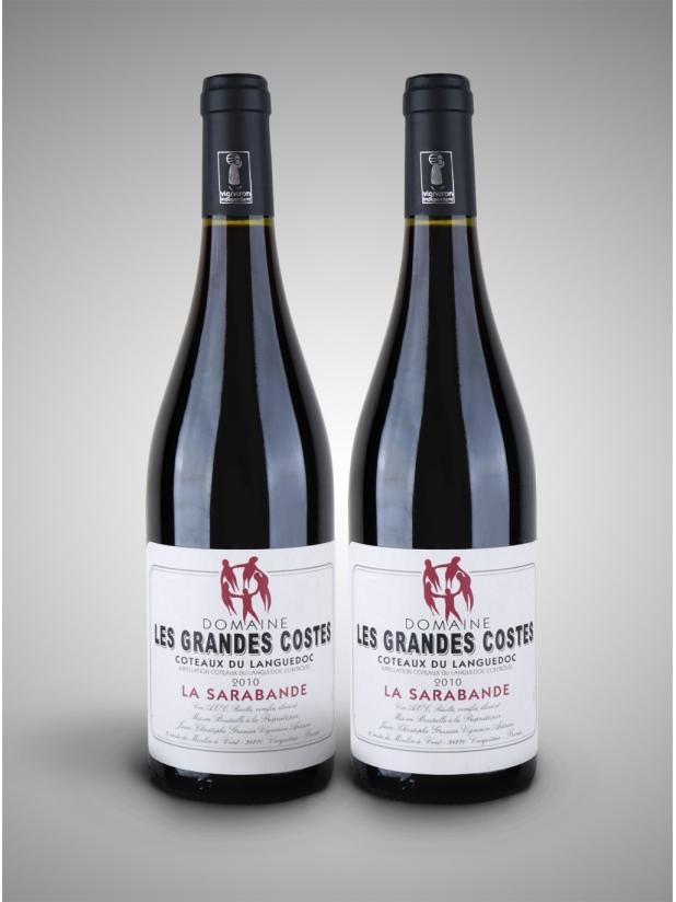 法国五条友 干红葡萄酒x2